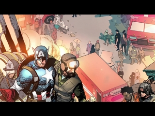Captain America #1 - Тизер-трейлер