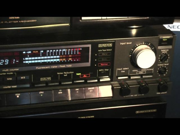 Technics RS-B100 Plays music (with dbx)