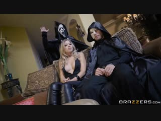 Zoey monroe - trick and treat  [blonde, cheating, sneaky, halloween, blowjob, doggystyle, missionary]