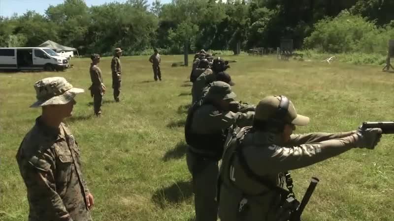Marine Raiders partner with Guam law enforcement agents