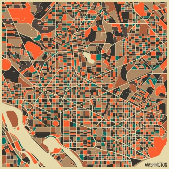 Abstract map