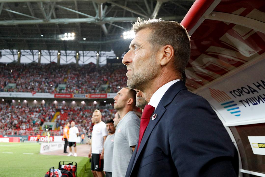 Массимо Каррера: «Спартак» не позволил ничего создать «Оренбургу»