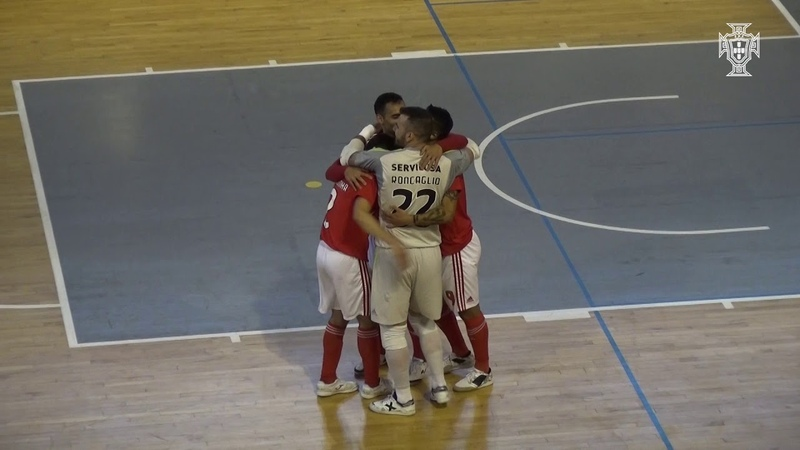 Liga Sport Zone de Futsal: Fundão 1-7 SL Benfica