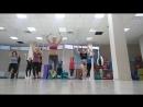 Латина с Евгенией Литвиновой в Алекс фитнес Электросталь