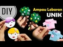 DIY Membuat Angpau Lebaran Tanpa Jahit Unik Eid Money Envelope No Sew