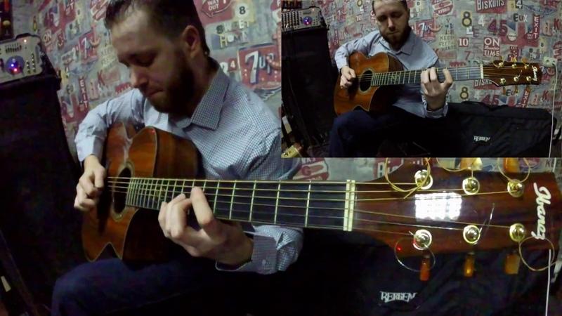 Dmitry Bondarenko - Кайрат Нуртас feat. Нюша - Алматы түні - Алматинская ночь (solo cover.)