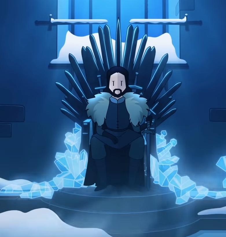 Джон Сноу вReigns: Game of Thrones