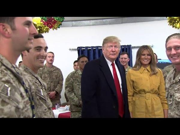 Trump makes suprise trip to Iraq