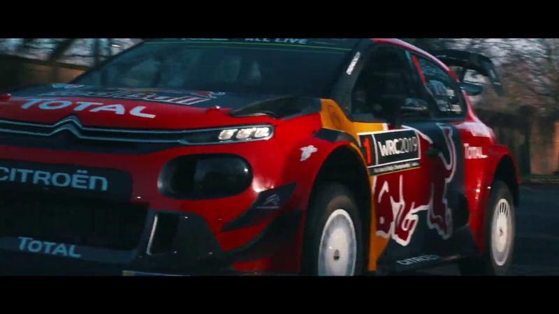 Видеопрезентация Citroen C3 WRC 2019 года