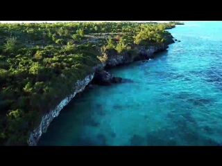 Zanzibar Beach  Mnemba Island Atoll From Above _ DJI Mavic Pro 4K