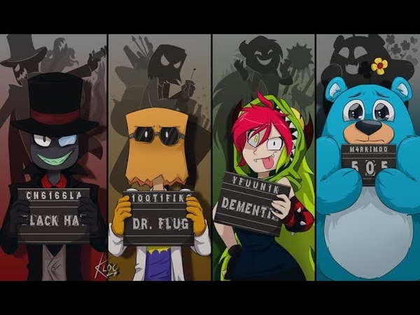 Villainous Злыдни все эпизоды на русском Cartoon Network Rus dub