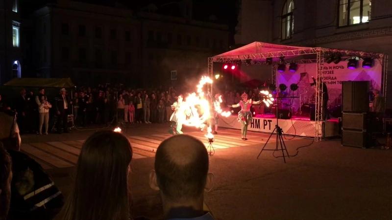 Огненное шоу на Казанском кремле 19 05 18