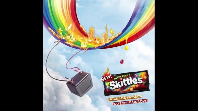 Огненно-острый Skittles