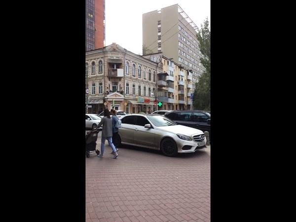 11 сентября 2018. Опять вбили железные гвозди прямо на Пушкинской.