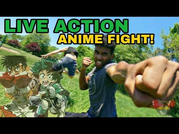 Live Action Anime Fight