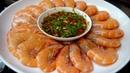 广式白灼虾好吃有诀窍,蘸料和做法都告诉你,比饭店里的还好吃