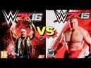 WWE 2K16 FINISHERS VS WWE 2K15 FINISHERS Comparison👏😍WHO IS THE BEST 👏😍