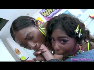 Daizy Cooper & Noemie Bilas – Oral Fixation With Noemie And Daizy [Swallowed. HD 1080. BlowJob, Ebon