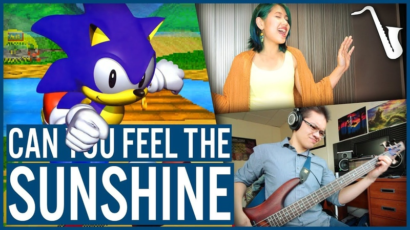 Sonic R Can You Feel the Sunshine Jazz Cover insaneintherainmusic