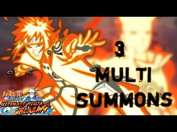 Minato Summons| Открываем Витрину| Naruto Blazing