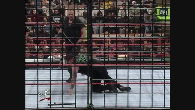 Big Boss Man Vs Mideon - Steel Cage Match - RAW 15.03.1999
