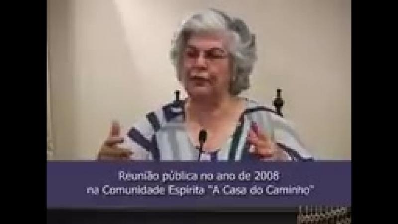 A RAZÃO DA VIDA E O PORQUÊ DOS SOFRIMENTOS -- com a médium Isabel Salomão de Campos