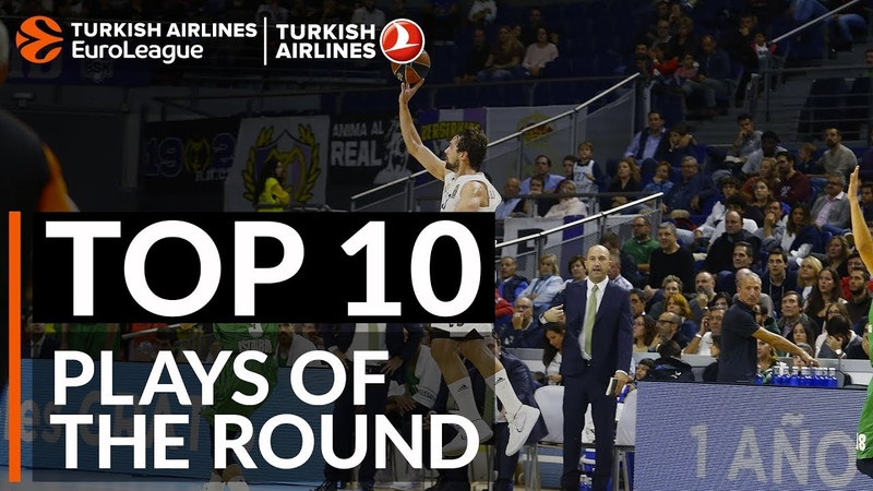 Top 10 Plays - Turkish Airlines EuroLeague Regular Season Round 1