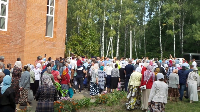 Начало крестного хода в честь памяти Иоанна Кукши просветителя и хранителя Орловщины