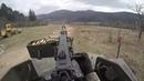 GoPro Intense Fire U S Soldier's shooting Machinegun from Humvee