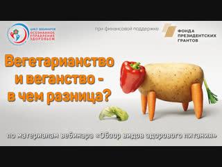 Вегетарианство и веганство - в чем разница?