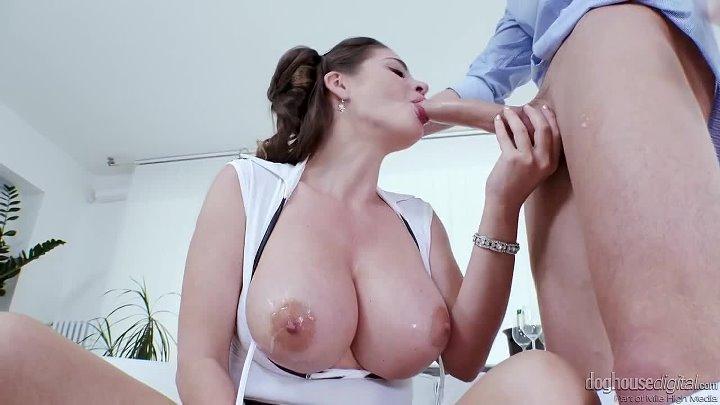 Cathy Heaven Amazing Big Tits boobs busty anal sex cumshot blowjob milf