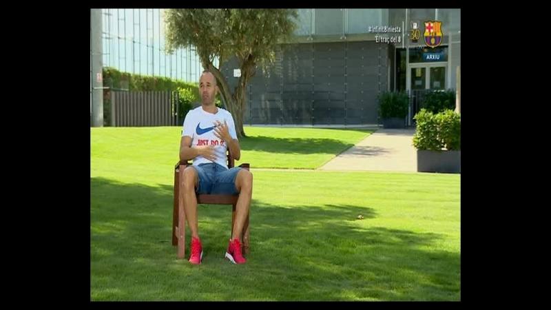 Andrés Iniesta. El Trazo del 8