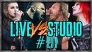 VOCALISTS: LIVE VS STUDIO 3
