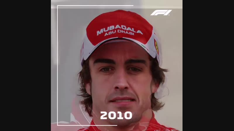 Вот как менялся Фернандо Алонсо за карьеру в «Формуле-1».
