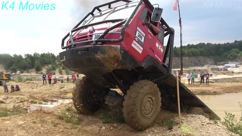 6x6 Steyr truck in Europe truck trial ¦ Off-Road ¦ Langenaltheim, Germany 2018 ¦ no. 309