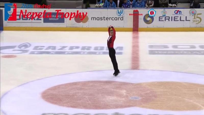 Михаил Коляда _ Mikhail KOLYADA - Ondrej Nepela Trophy 2018 Free Skate - Septemb
