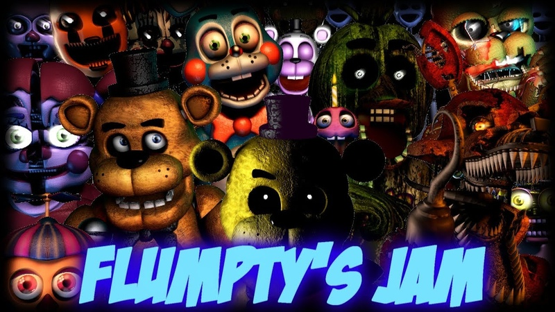 [FNAF\SFM] Flumpty's Jam Remake Song by: DAGames