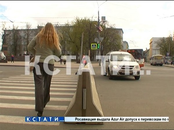 Пробки и путаница - площадь Минина закрыта на три месяца