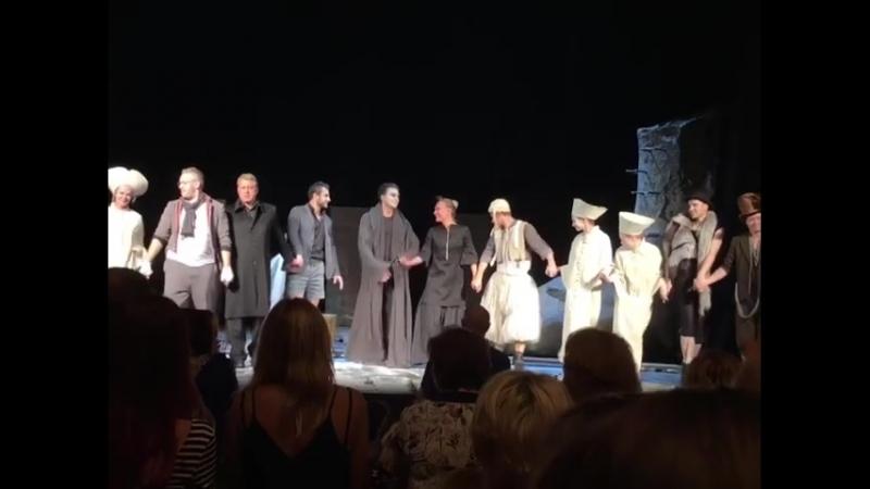 Сирано де Бержерак, 25.08.2018, театр на Малой Бронной