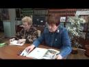 В библиотеке им. И. А. Новикова общественники и учащиеся школы № 3 приняли участие в акции Читаем И. С. Тургенева
