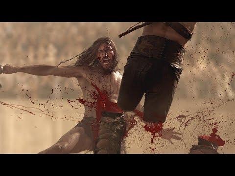 Спартак:Кровь и Песок Первый бой Спартака на арене в Капуе