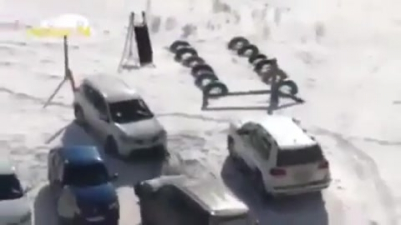 Когда за рулем идиот Убойные приколы