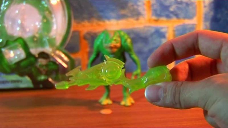 Обзор на Фигурку зелёного фонаря Green man. GL05