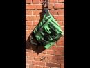 Heat reactive bag