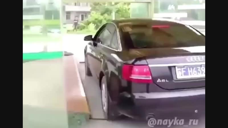 Парковка в Японии