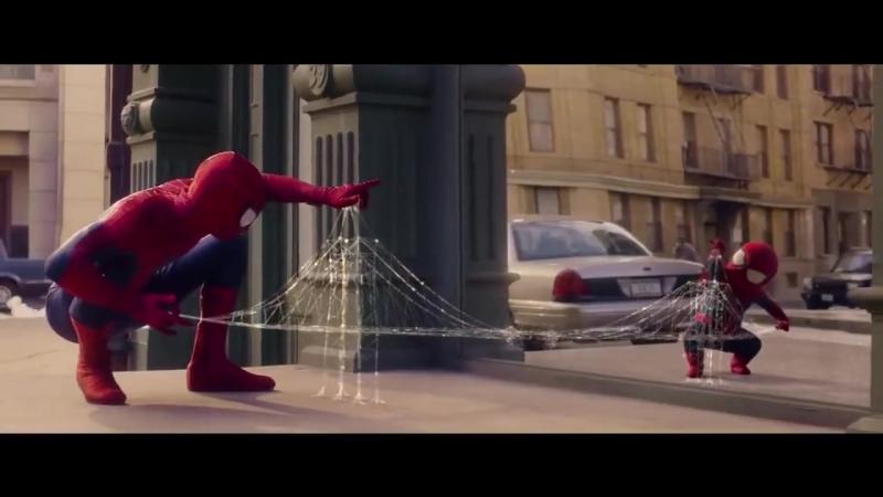 Маленький человек паук =) Очень Смешно .mp4
