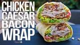 Chicken Caesar Salad Wrap SAM THE COOKING GUY 4K