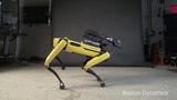 Робот долбоеб танцует под красную плесень Boston dymamics