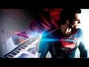 MAN OF STEEL (HANS ZIMMER) - Arcade (Violin Piano Duet) ft. HarbingerDOOM
