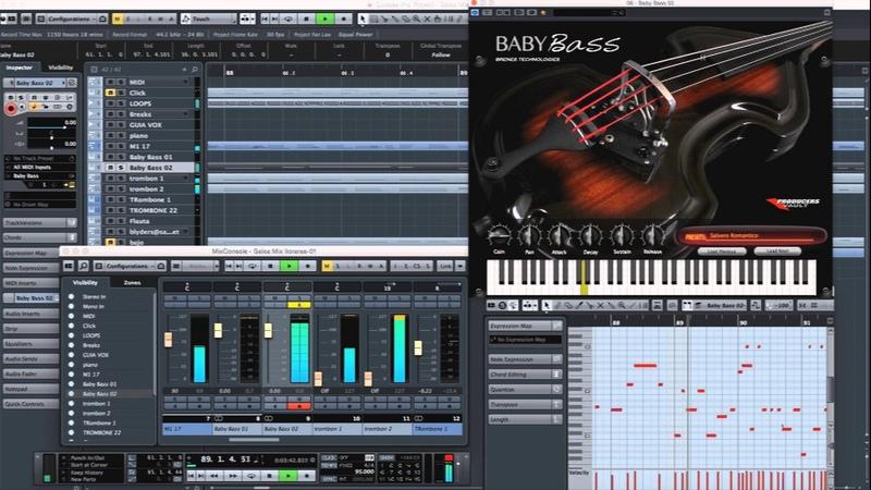 Baby Bass Virtual Instrument Demo Baby Bass VST AU Plugin